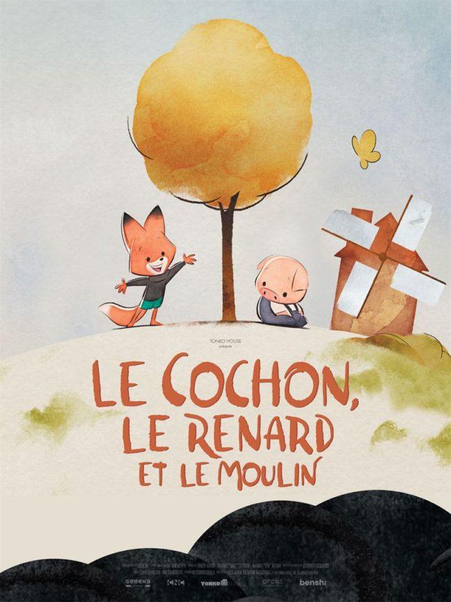 le cochon, le renard et le moulin