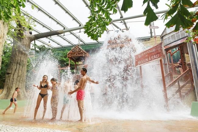 Center Parcs arbre a eau chamouille