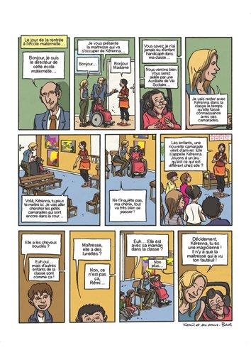 BD sur le handicap