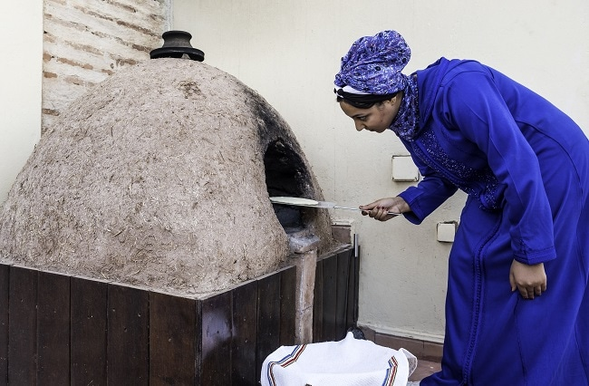 atelier pain marocain marrakech