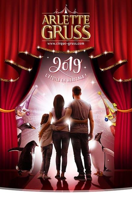 cirque arlette gruss tournée 2019