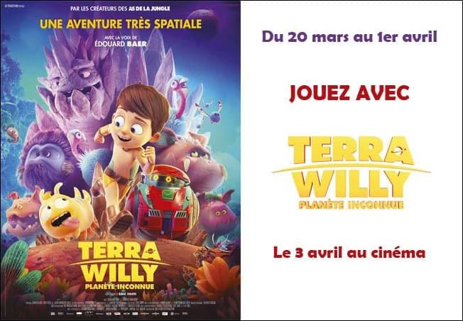 concours mafamillezen terra willy