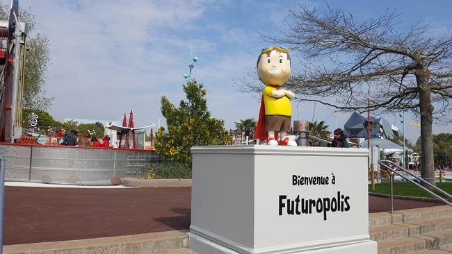 Futuropolis au Futuroscope