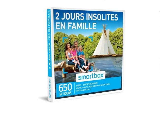 coffret smartbox famille