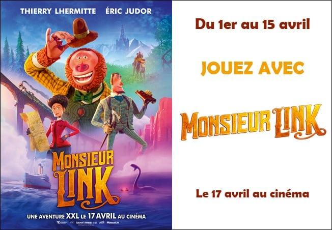 concours Mafamillezen Monsieur Link