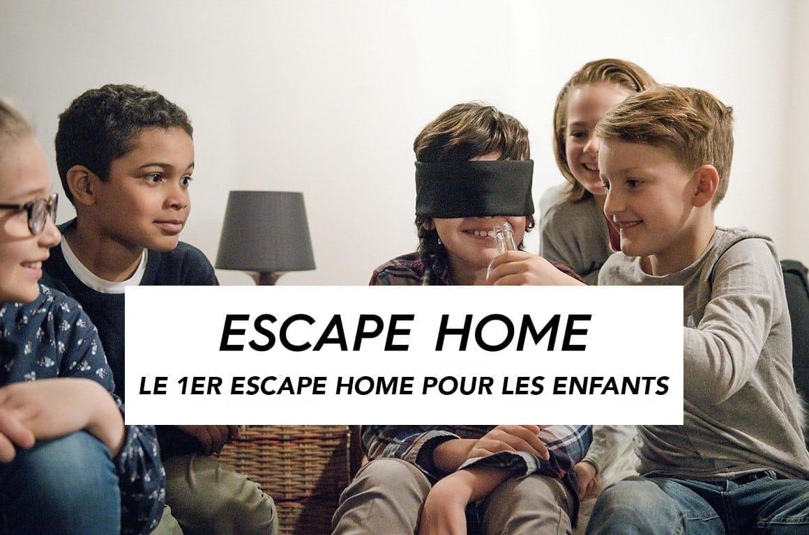 escape home pour enfants