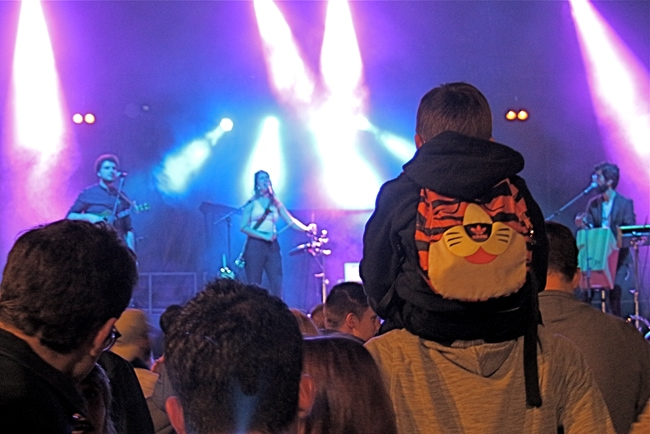 concert du FIMU de Belfort en famille