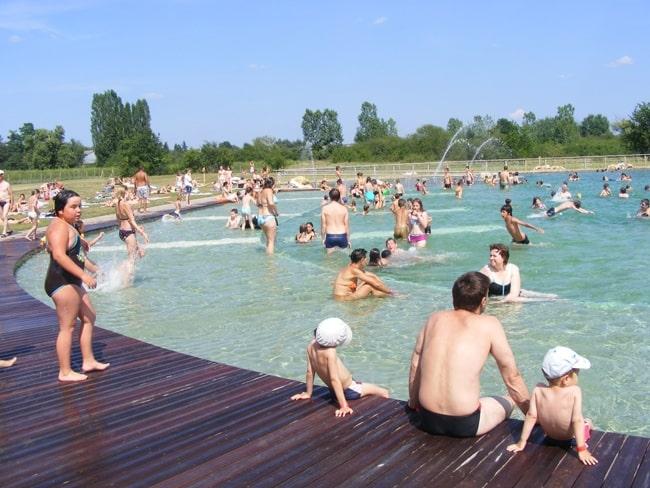 baignade naturelle Chambord