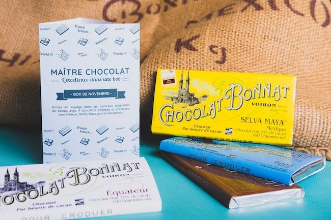 box chocolat Bonnat