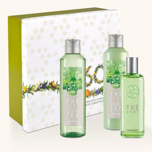 composition parfumée Thé Vert Yves Rocher