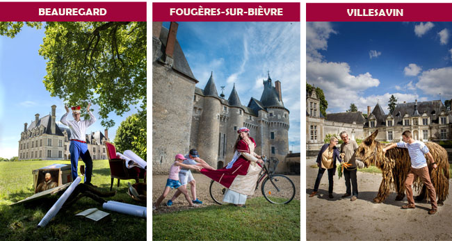 les petits châteaux de la Loire