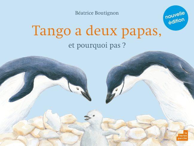 Tango a deux papas, livres enfants qui parlent d'homoparentalité