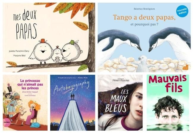 livres enfants qui parlent d'homoparentalité