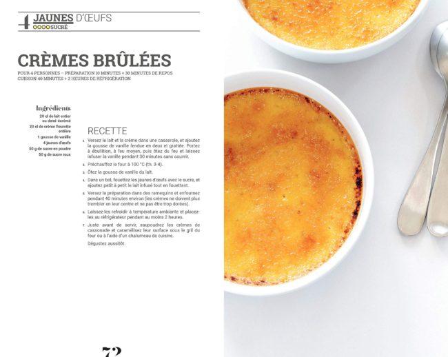 recette crème brûlée pour utiliser les jaunes d'oeufs