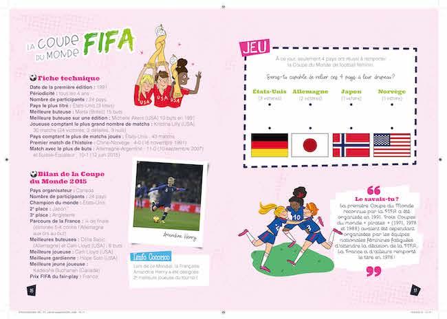 livre sur la coupe du monde féminine