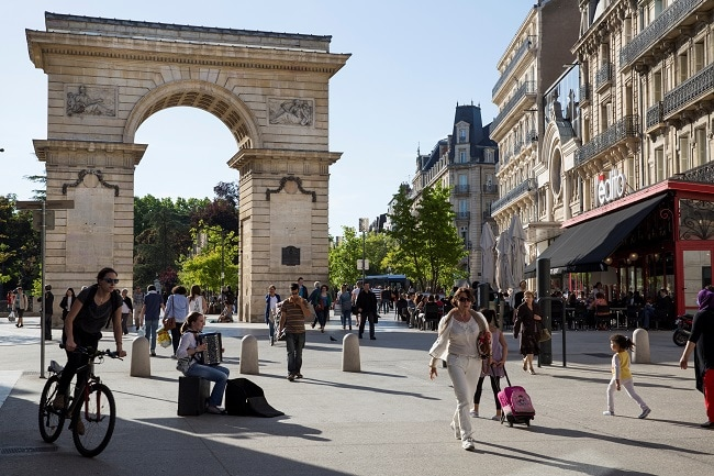 PORTE GUILLAUME, PLACE DARCY A DIJON