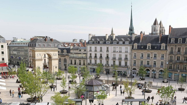 Place Darcy à Dijon