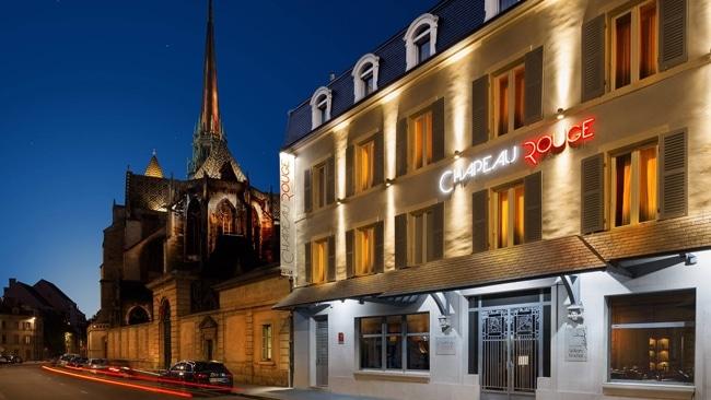 Hôtel Le chapeau rouge à Dijon