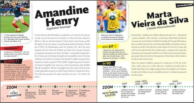 livres sur le football féminin