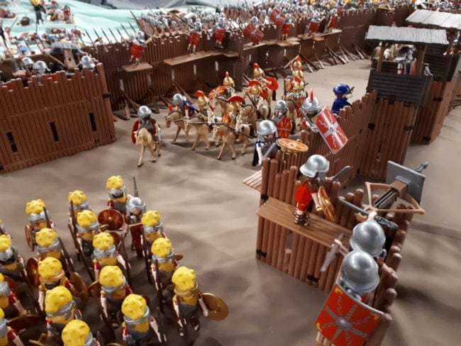 expo Playmobil MuseoParc Alesia