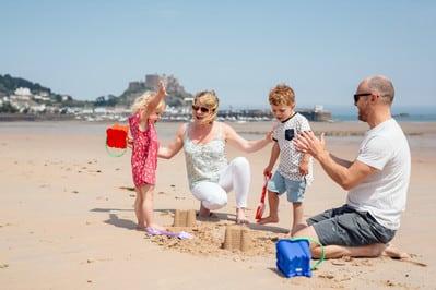 Jersey en famille