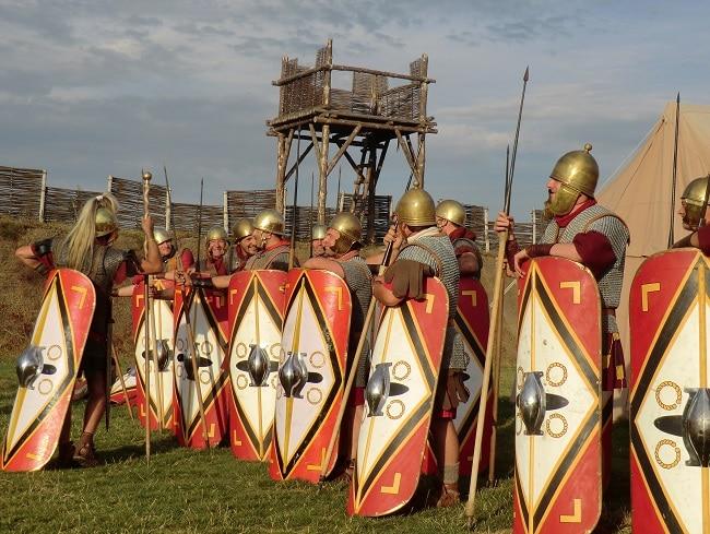 LE MUSÉOPARC ALÉSIA romains reconstitution historique