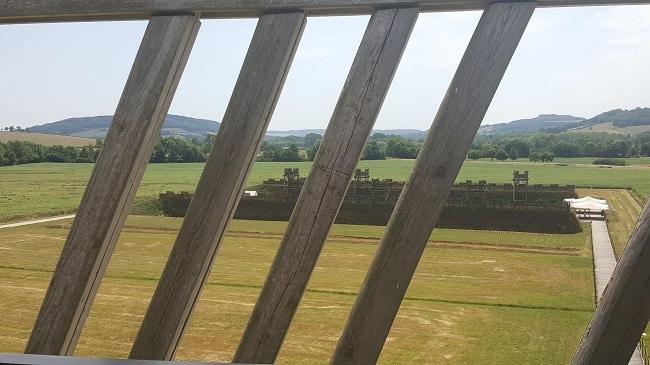LE MUSÉOPARC ALÉSIA vue fortifications