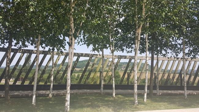 LE MUSÉOPARC ALÉSIA vue oppidum