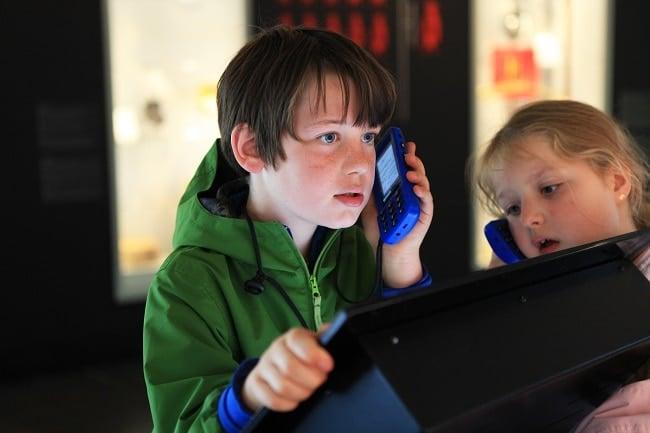 audioguide enfant muséoparc Alésia