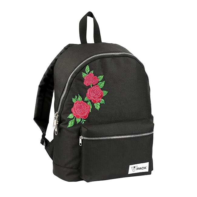 sac à dos collège Vpack Roses Viquel