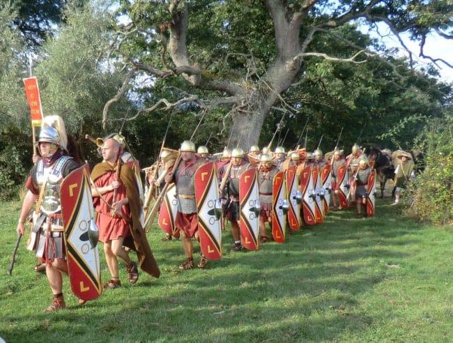 reconstitution historique Alésia