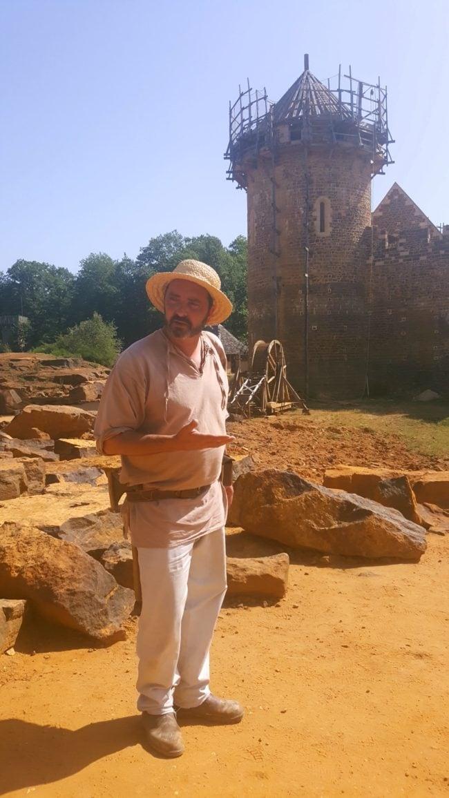 visite guidée Guédelon