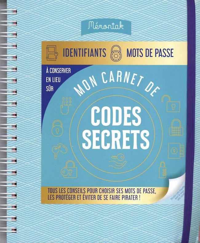 carnet de codes secrets