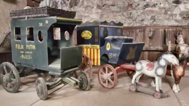 grenier aux jouets château Saint-Fargeau