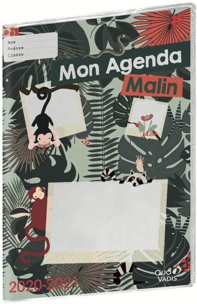 Mon Agenda Malin CM1-CM2 Quo Vadis 2020-2021