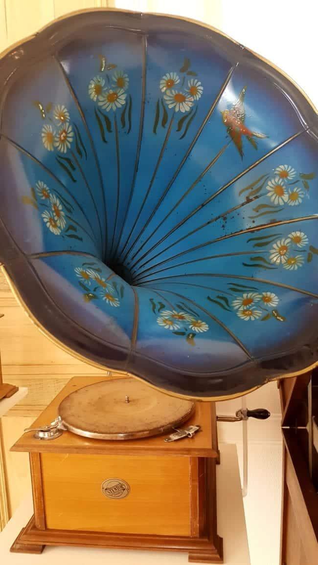 phonographe au Musée de l'Aventure du Son