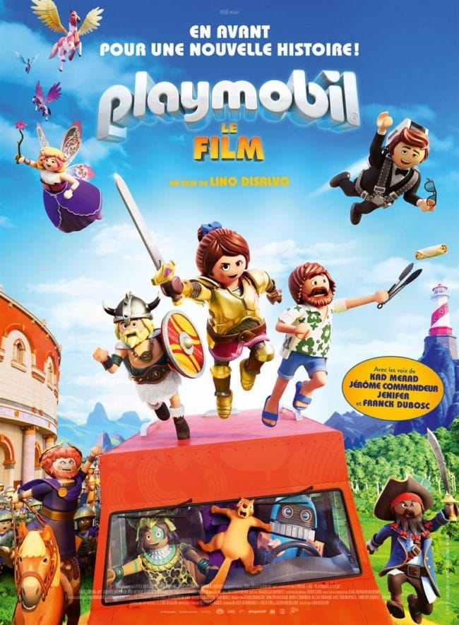 affiche Playmobil le film