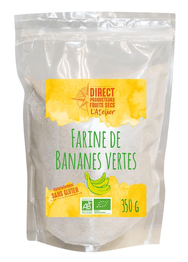 Farine de Bananes vertes