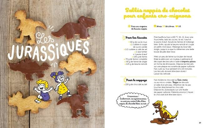 Sophie a réalisé la recette des «Jurassiques», inspirée par les Dinosaurus