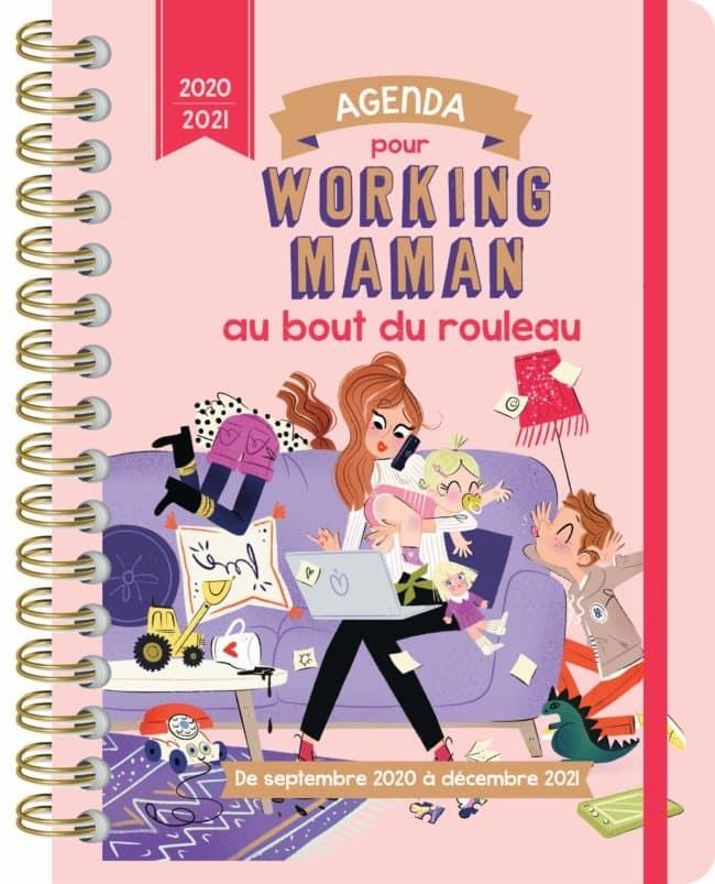 Agenda pour working mum au bout du rouleau 2020-2021