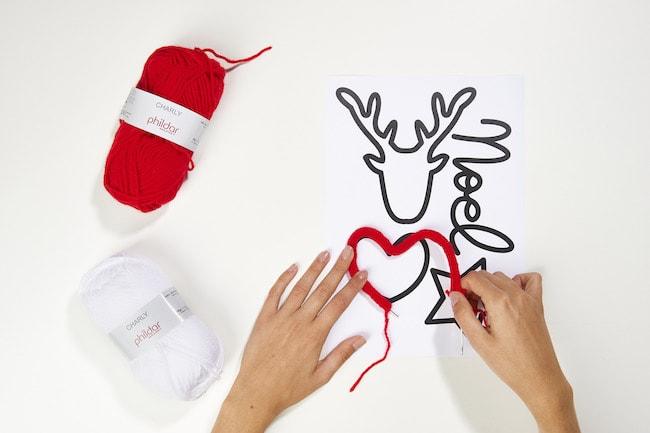 Sapin cosy tricotin - Déco Noël Cultura