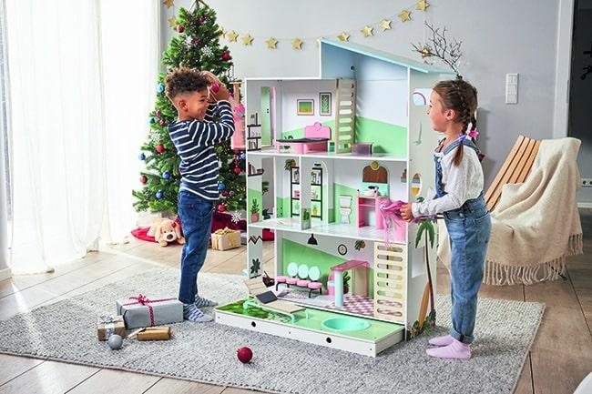 maison de poupée en bois XXL Lidl