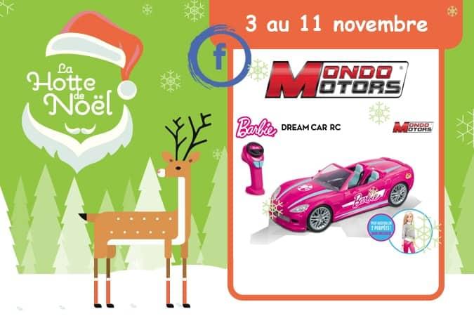 concours voiture Barbie Mondo Mafamillezen