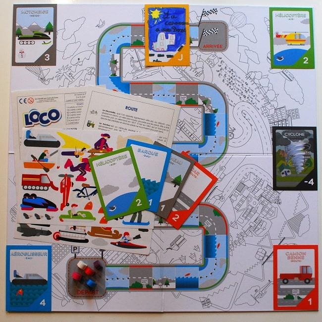 Coq6grue jeu Loco ouvert