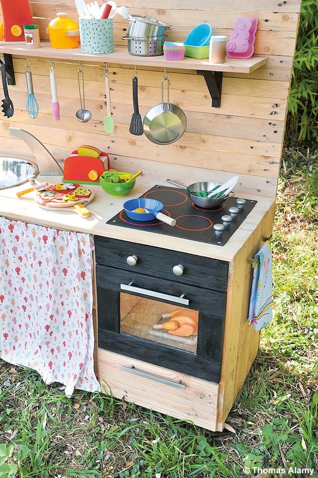 Tuto Bricolage Fabriquer Une Cuisine Enfant En Palettes