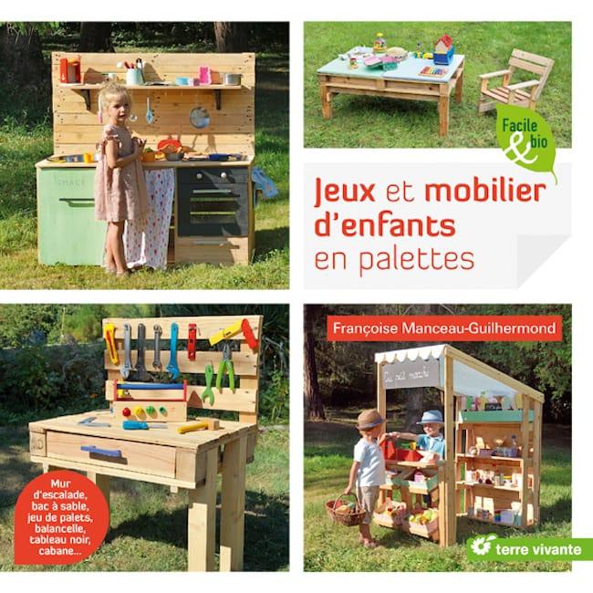 Tuto mobilier d'enfants en palettes