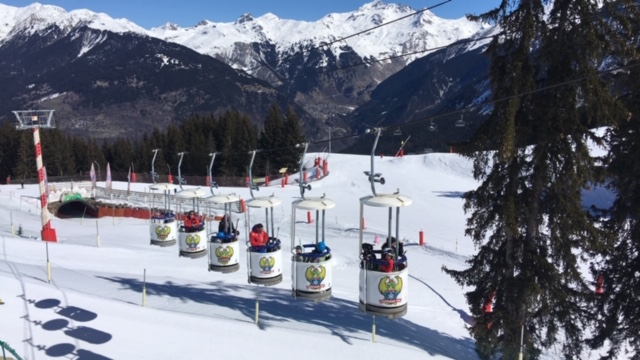 Courchevel Kids friendly