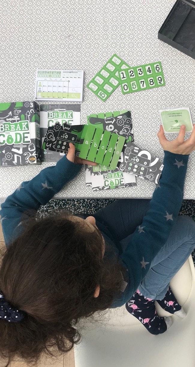 test jeu break the code
