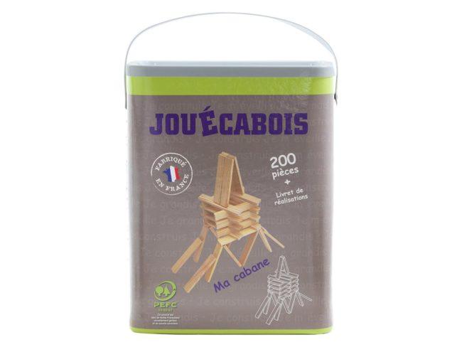jeu de construction en bois Jouécabois