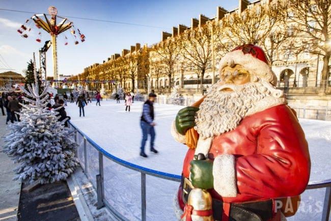 Noël en famille à Paris / Marché de Noël aux jardin des Tuileries